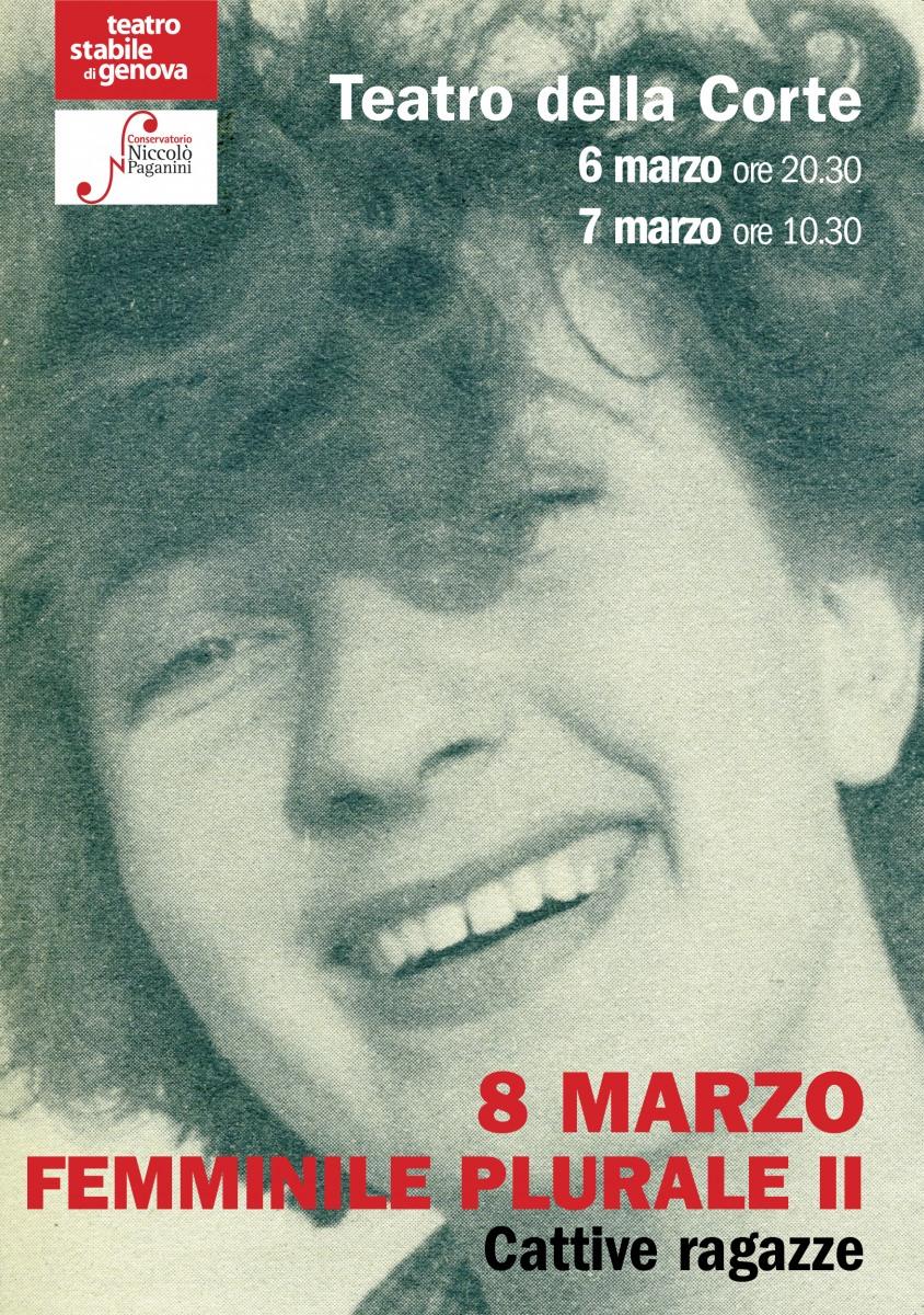 8 Marzo Femminile Plurale Conservatorio Niccolò Paganini
